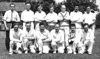 Froyle Cricket Team 1950s